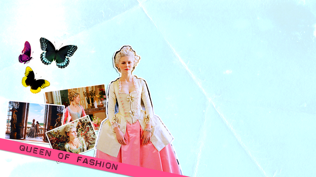 WP : Queen of Fashion by olde-fashioned