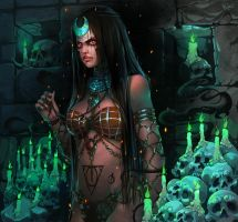 Suicide squad : Enchantress by Philiera