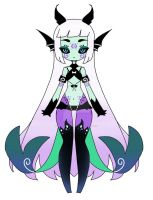 Monster  adoptable girl CLOSED by AS-Adoptables