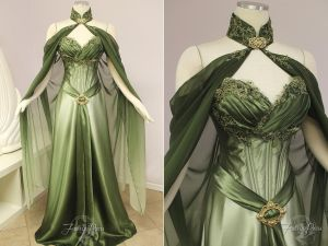 Elven Bridal Gown by Lillyxandra