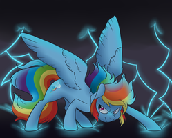 Rainbow Crash by Princess-Hanners