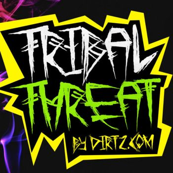 Tribal Threat [Free Font] by Dirt2.com by KeepWaiting