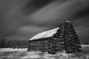 Valley Forge Snow 2 by rojoepeters
