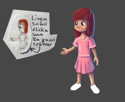 Re-drawing an old character 2 by reigneous