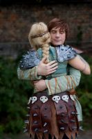 HTTYD Cosplay: Astrid and Hiccup by HicksBerlin