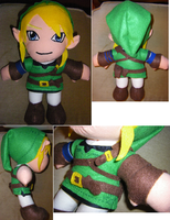 Link Plushie by S2Plushies