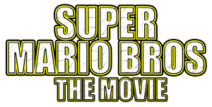 Super Mario Bros The Movie Logo by KingAsylus91