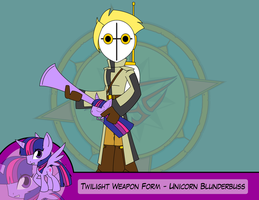 Heroes as Arms - Unicorn Blunderbuss by Dragon-FangX