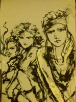 Metal Gear Solid Girls by suzanna8767
