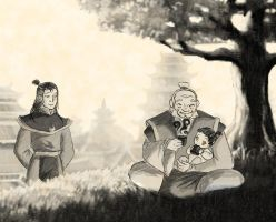 Big and little Iroh by Maki-moun