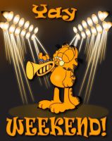 Garfield by Jazzmanian