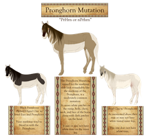 The American Clay Horse -Pronghorn Mutation- by 11IceDragon11