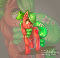 Strawberry Tingle by Obpony