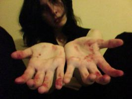 My Hands Are Stained by BlackWingedKat