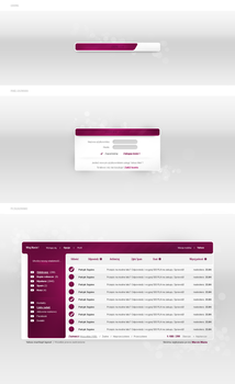 Interfaces for yahoo meil by marcinpt