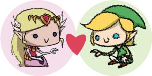 Legend of Zelda Button Series 2 by Xanhee-Side