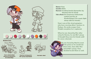 Vezz character profile by PhuiJL