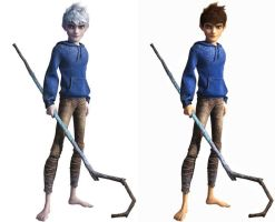 Jack Frost (Human Version) by Alicegal