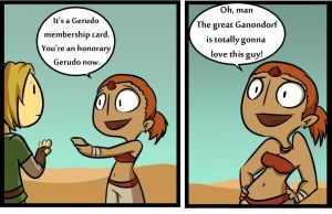 Gerudo Membership card by TheCoolCactus