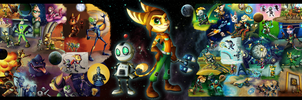 Ratchet and Clank - Saving the Universe by C-Puff