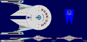 USS Mirage Multi-View by captshade