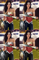 Wonder Woman Gal Gadot - With Pants by LamboMan7