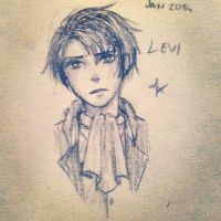 Levi Sketch by MellowIzzy