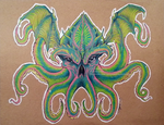 Cthulu Commission by GoatQueen