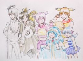 A  heart-warming group photo by Ringo-Mikan