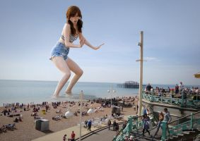 Attack on Brighton - Anna Kendrick by docop