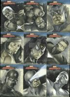 Marvel Masterpieces set 2 by gattadonna