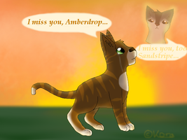 I miss you... by Finchflight