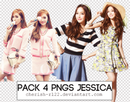 Pack 4 PNGs Jessica by cherish-rl22