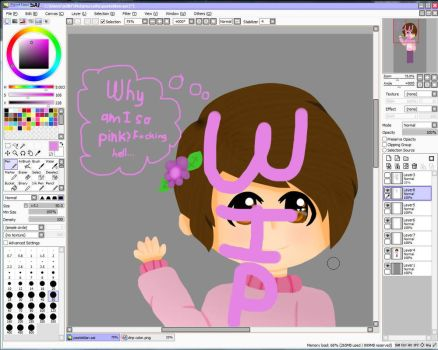W.I.P. Pastel Dan Howell by RMystery