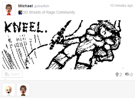 Miiverse Nora by gsilverfish