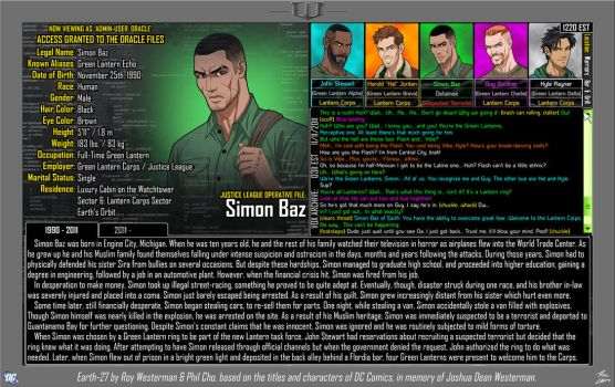 [Earth-27: Oracle Files] Simon Baz (1/2) by Roysovitch