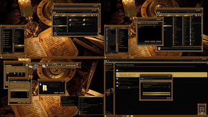 STEAMPUNK theme for windows 7 by ORTHODOXX67