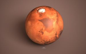 Planet Mars by monsteer