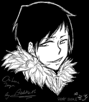 DRRR: Orihara Izaya ........... in paint D: by Aveldeth