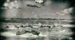 D-Day Landing Southsea Beach 2014 by Bazz-photography