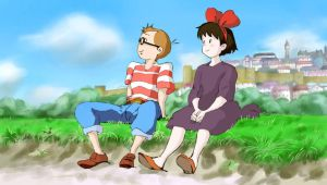 Kiki's Delivery Service Finished by baskervwatson