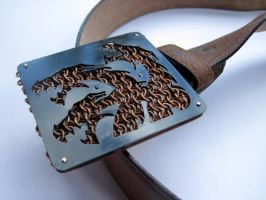 House Targaryen Belt Buckle by kenshin1387