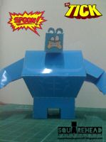 The Tick Papercraft by jazzmellon