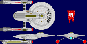 USS Ares Multi-View by captshade