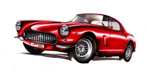 ferrari 250 berlinetta by Chrupson