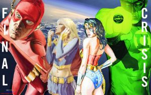 Final Crisis Covers by Xionice