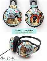 Marions Headphones by PeterPan-Syndrome