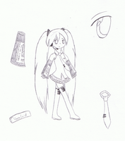 Pieces for miku by Yami7