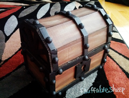 Zelda OOT Treasure Chest by FluffableSheep