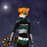 Starfox OC: Tiga Strauss by Blue-and-Dog